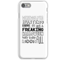 A Freaking Halloween Party iPhone Case/Skin
