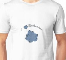 I  heart Blueberries Unisex T-Shirt
