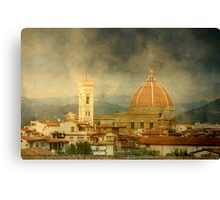 Dreams of Tuscany  Firenze Canvas Print