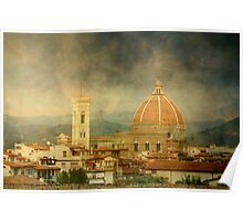 Dreams of Tuscany  Firenze Poster