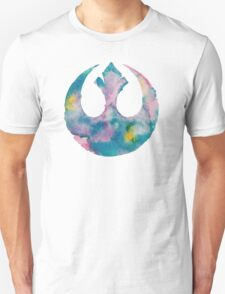 Watercolor Rebel Alliance (white) T-Shirt