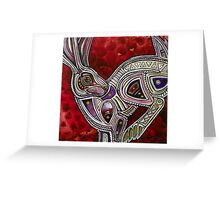 The Trickster Rabbit Greeting Card