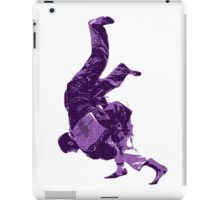 Judo Throw in Gi Purple  iPad Case/Skin