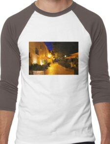 Gassin by Night on the French Riviera Men's Baseball ¾ T-Shirt