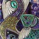 Jumping Fish II by Lynnette Shelley