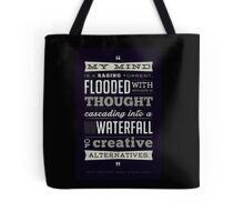Funny Classic Movie Quote typography from Blazing Saddles by Harvey Korman Tote Bag