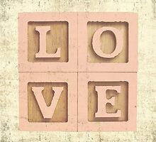 Block Love Pink by Erin Reynolds
