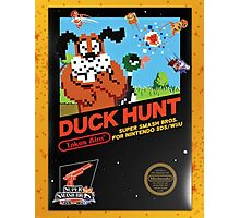 Duck Hunt Takes Aim! Photographic Print
