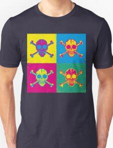 bright color skulls T-Shirt