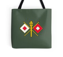 Signal Corps - Branch Insignia (United States Army) Tote Bag