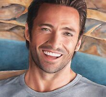 Hugh Jackman Art by Dacdacgirl