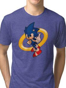 Sonic Ring Tri-blend T-Shirt