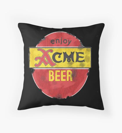 ACME Worn Out Throw Pillow