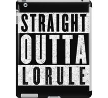 Lorulean with Attitude iPad Case/Skin