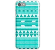 Mint Aztec  iPhone Case/Skin