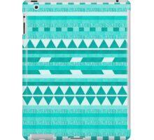 Mint Aztec  iPad Case/Skin