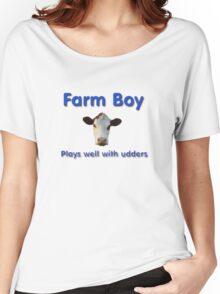 Farm Boy Women's Relaxed Fit T-Shirt