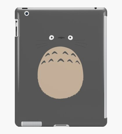 My Neighbor Totoro - Face and Chest iPad Case/Skin