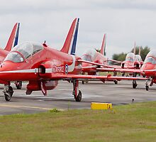 Red Arrows Panoramic by Bobtographer