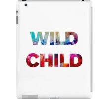 Wild Child iPad Case/Skin