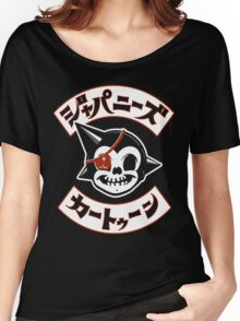 Japanese Cartoon Women's Relaxed Fit T-Shirt