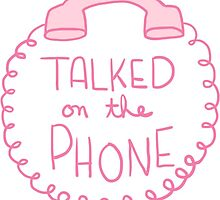 Spoonie Achievement:  Talked on the Phone by spooniestickers
