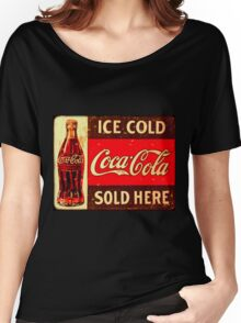 Cocacola Vintage Women's Relaxed Fit T-Shirt