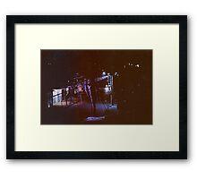 7758 Framed Print