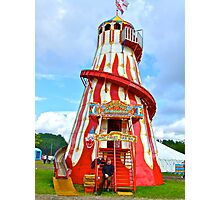dont Forget your Mat ! (Helter Skelter) Photographic Print