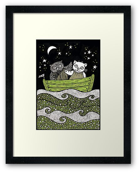 Sail Away by Anita Inverarity