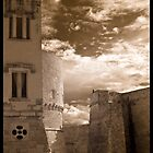 Castle Walls, Italy by Rene Hales