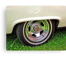 Mustang Wheel. Canvas Print