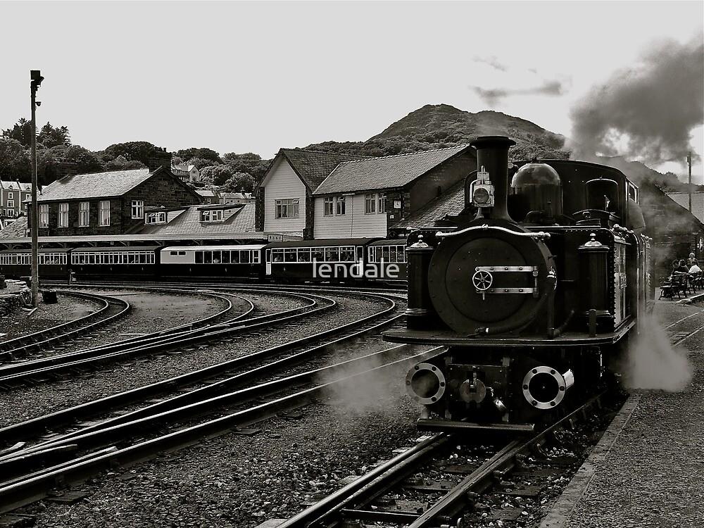 Welsh Steam Train by lendale