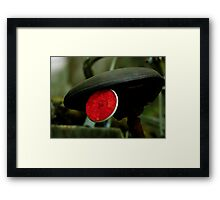 The Red Reflector Framed Print