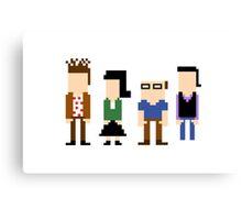 8-Bit Seinfeld Canvas Print