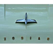 Zodiac Hood Photographic Print