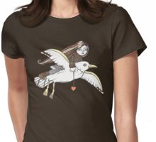 Frannies Flight Tee Womens Fitted T-Shirt