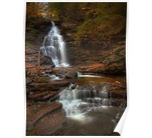 Ozone Falls (in Autumn) Poster