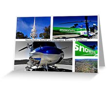 Snowyhydro SouthCare Helicopter Rescue ~ Canberra Greeting Card