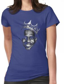 The Notorious L.B.J. Womens Fitted T-Shirt
