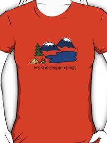 Camping - Simple Things T-Shirt