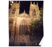 Minster by Night Poster