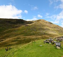 Red Screes by Paul Bettison