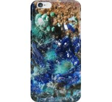 Mixite, Agardite, Strashimirite, and Azurite iPhone Case/Skin