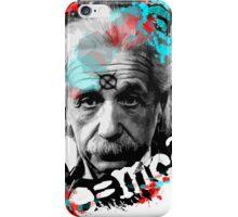 E=mc2 Albert Einstein Abstract portrait iPhone Case/Skin
