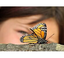 Butterflys are every child's dream Photographic Print