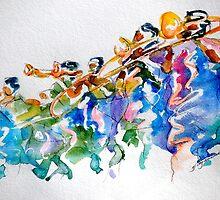 horns, trumpets, and some dudes by gerardo segismundo