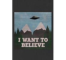 X-Files Twin Peaks mashup Photographic Print