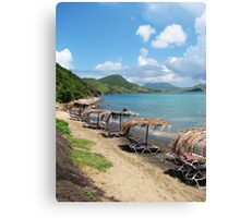 Beach Bar in St. Kitts Canvas Print