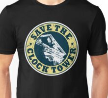 Save The Clock Tower (White Background) Unisex T-Shirt